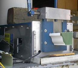 6 inch half gutter machine